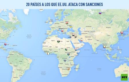 Los países sancionados